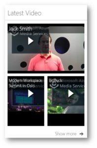 Valo Latest Office 365 Videos