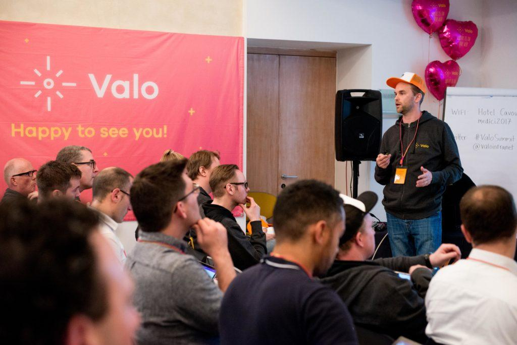 Valo keeps their extensive Valo Partner Network in good hands by organizing events and awards