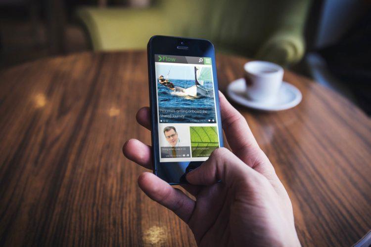 Valo intranet mobile case valmet