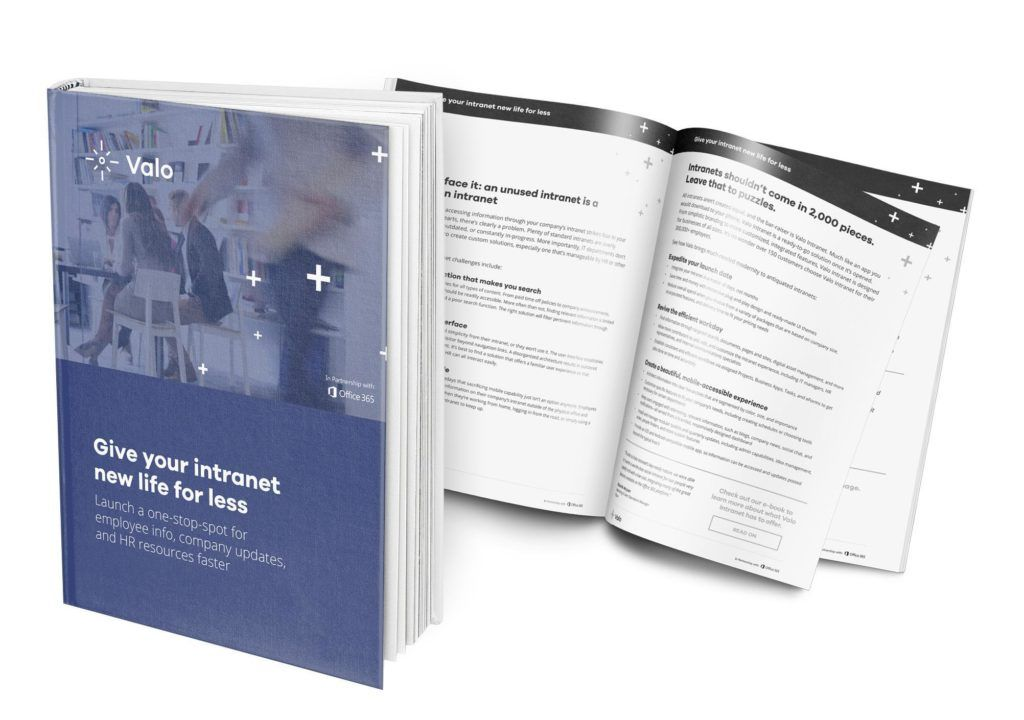 Give your intranet new life for less - featured by Microsoft
