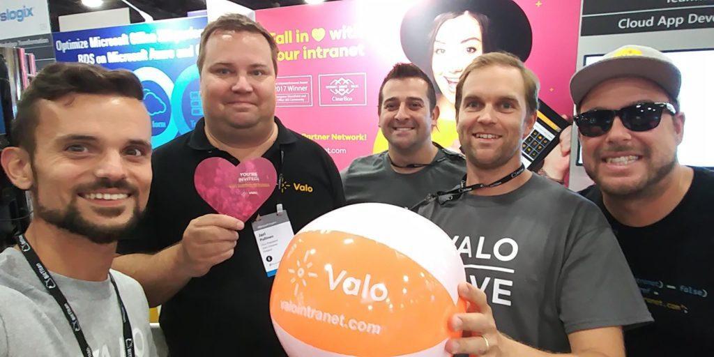 The Valo Family at Microsoft Inspire 2018