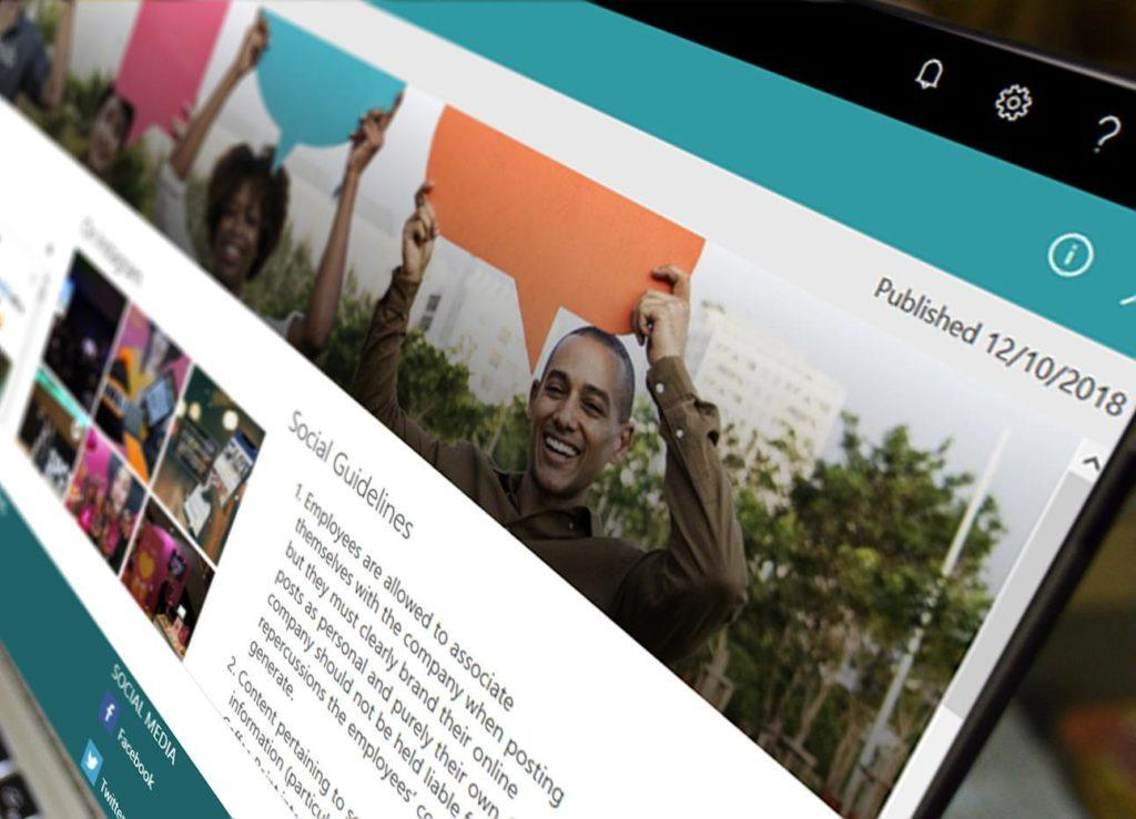 Valo Modern is now available with popular Social hub