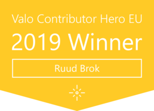 Valo Contributor Hero EU 2019 Winner: Ruud Brok