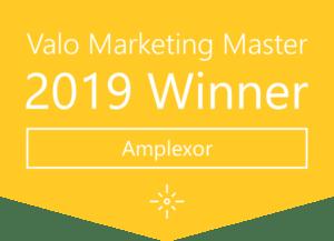 Valo Marketing Master 2019 Winner: Amplexor