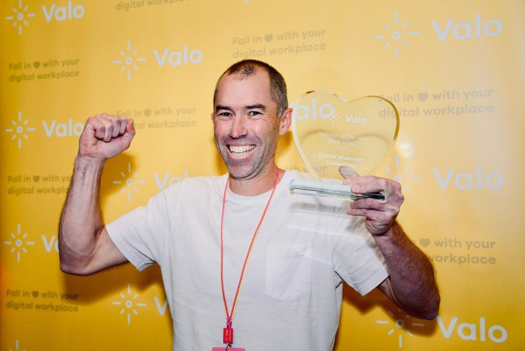 Valo Partner of the Year APAC 2019 Daniel Anderson