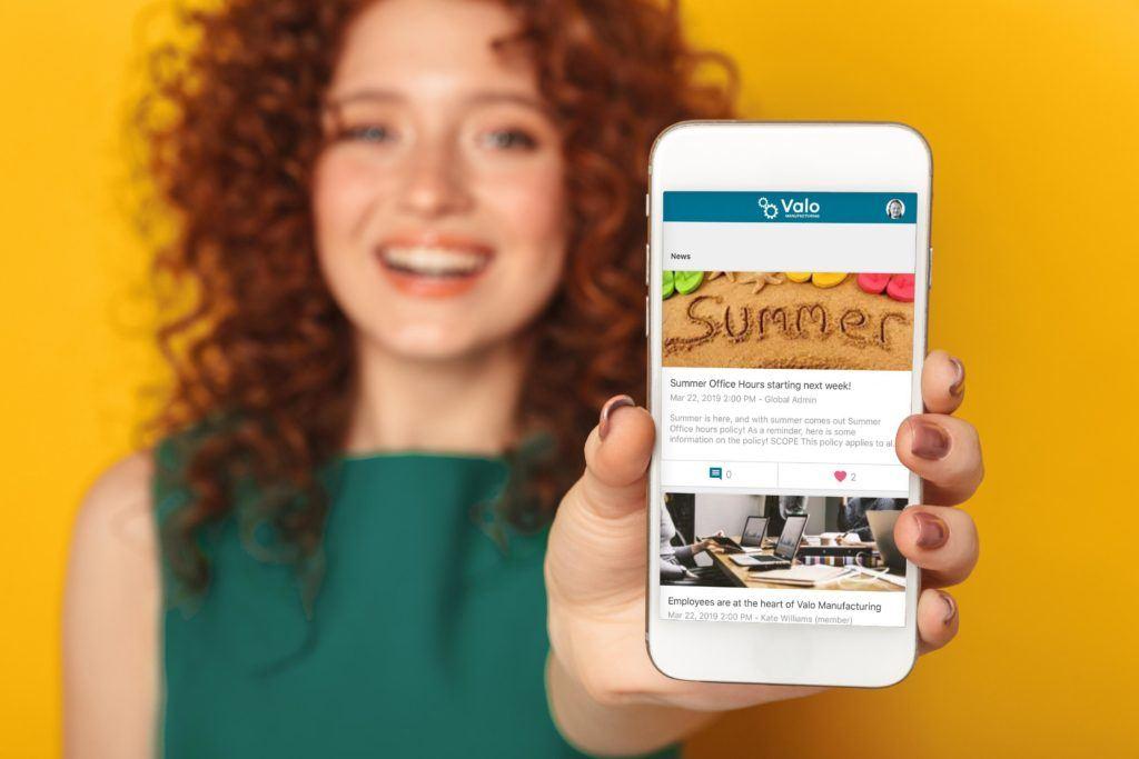 Valo Digital Workplace Mobile App