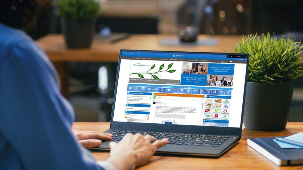 Mutualia - intranet for non-profit insurance company