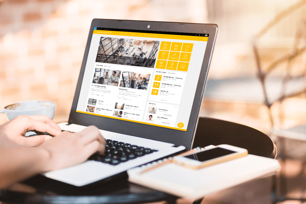Valo Intranet with LUX UI