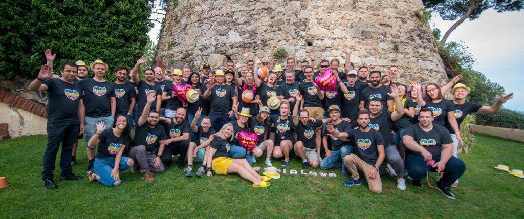 Global Valo Team together in Barcelona 2019