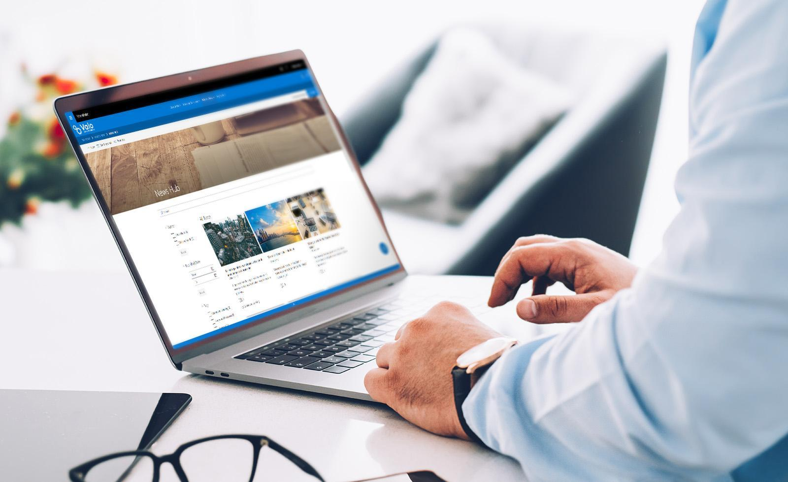 Valo Intranet in-a-box now on modern on-premises