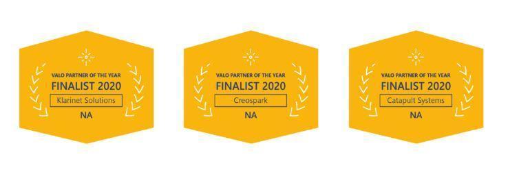 Valo Partner Award Finalists 2020