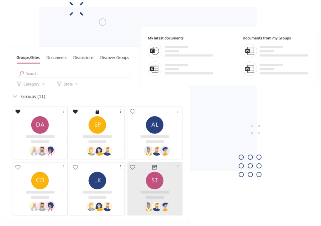 Easy-access-to-all-collaboration-tools from valo teamwork