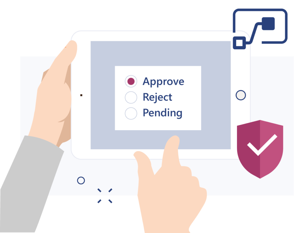Easy approval processes in Valo Teamwork