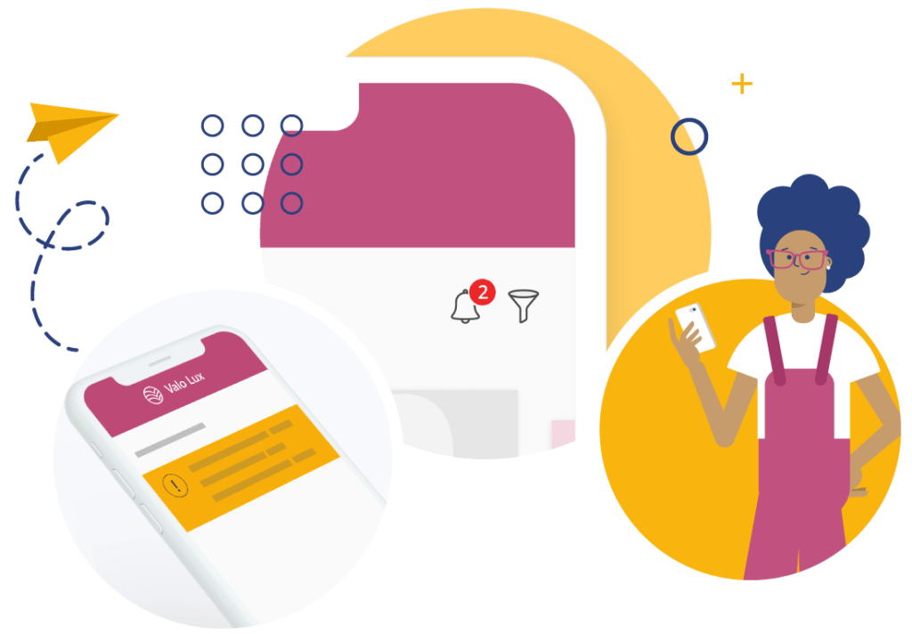 Enable push notifications for Valo Digital Workplace App