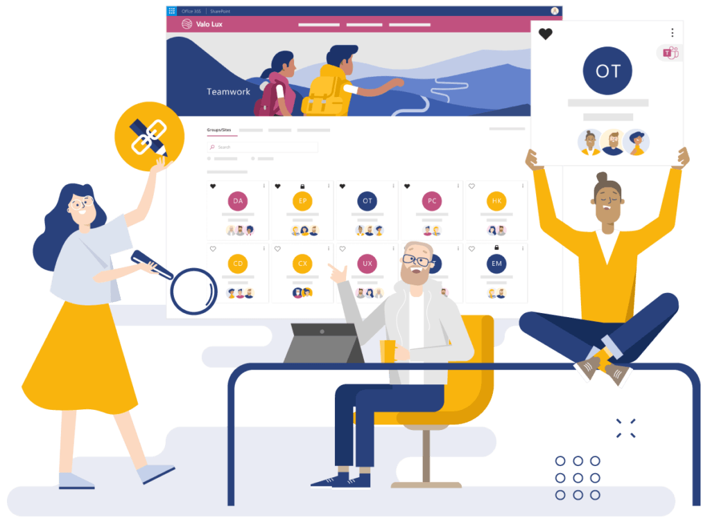 fall in love with digital collaboration with valo teamwork