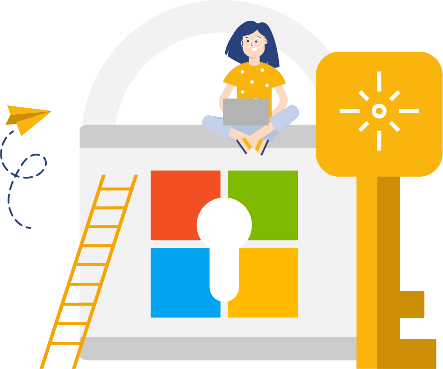 Single sign-on through Microsoft credentials to Valo