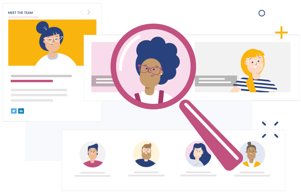 Valo intranet add-on people