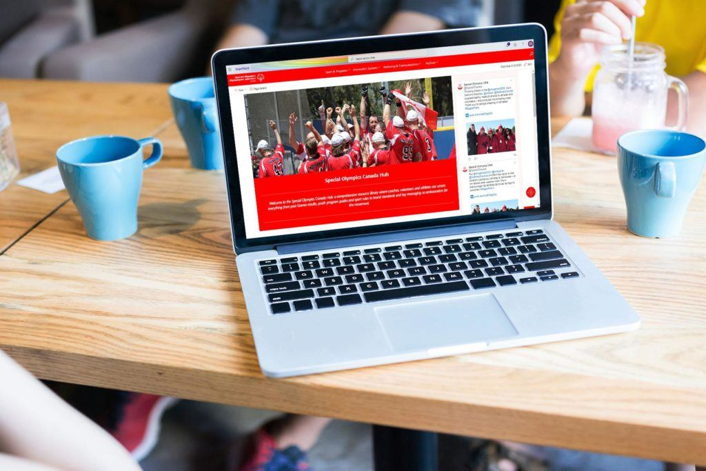 Special Olympics Canada's Valo Intranet has added value to the charity