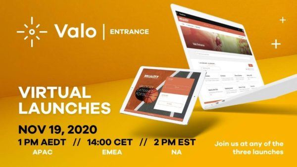 Valo Entrance launch event access management in SharePoint