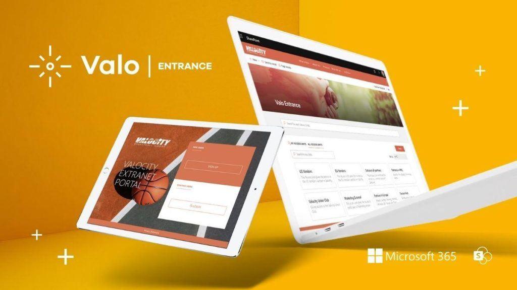 Virtual Launch Valo Entrance Valo Extranet