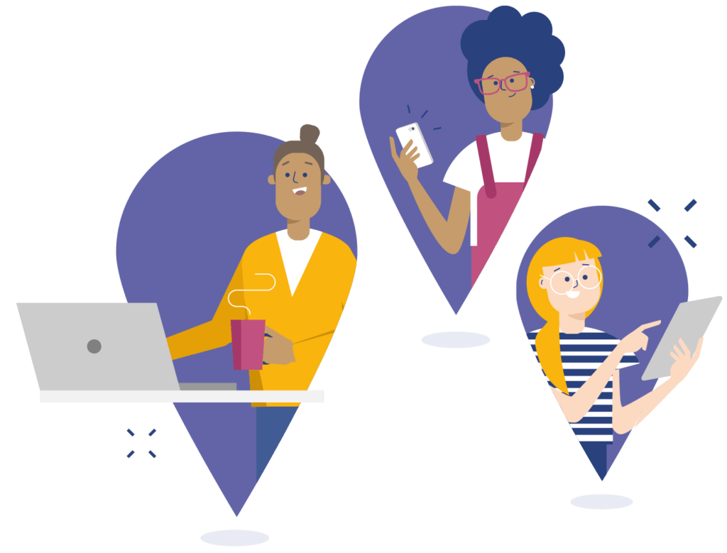 Access from anywhere, just like Microsoft Teams