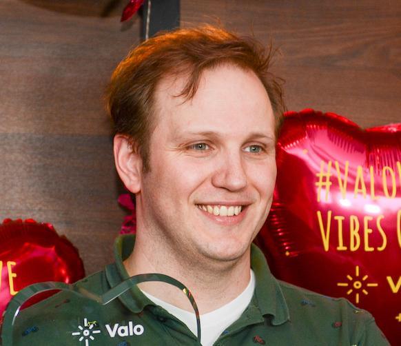 Ruud Brok from Valo Partner Portiva, NL
