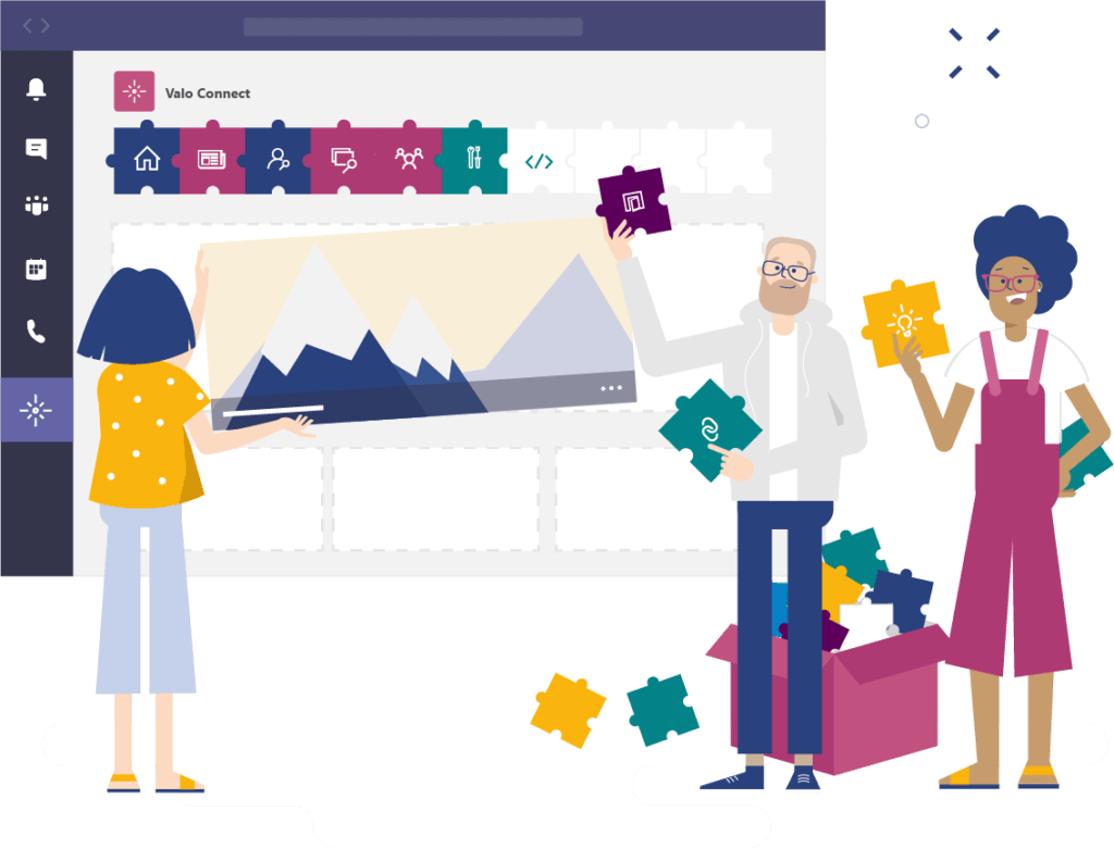 build a better workplace with valo connect