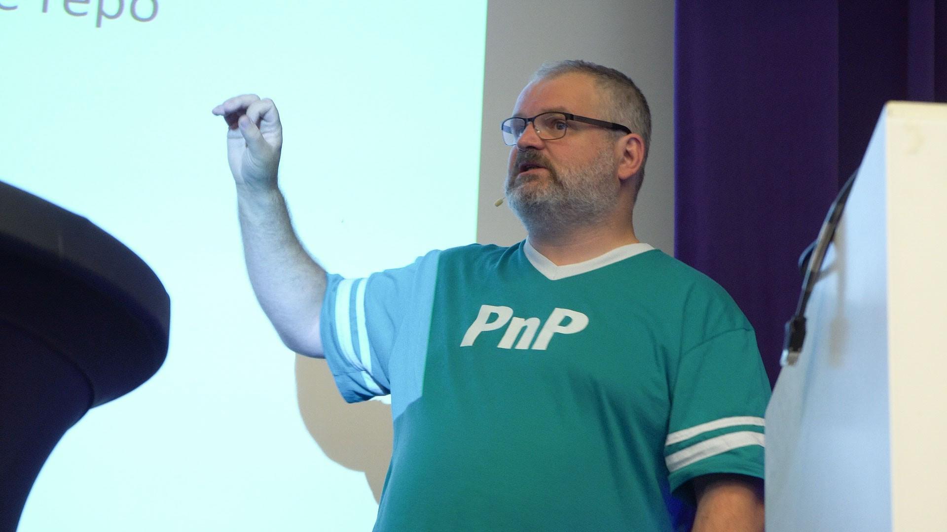 Erwin van Hunen at a PnP Event