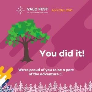 Valo Fest - Virtual tree planting