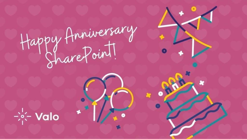 SharePoint's 20th Anniversary