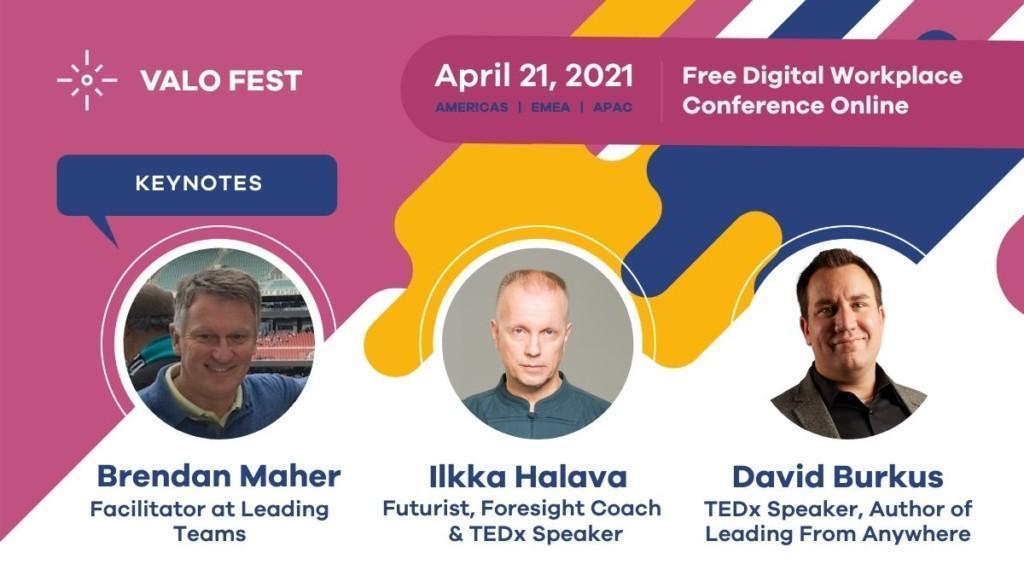 Valo Fest 2021 (Three Keynotes) Banner