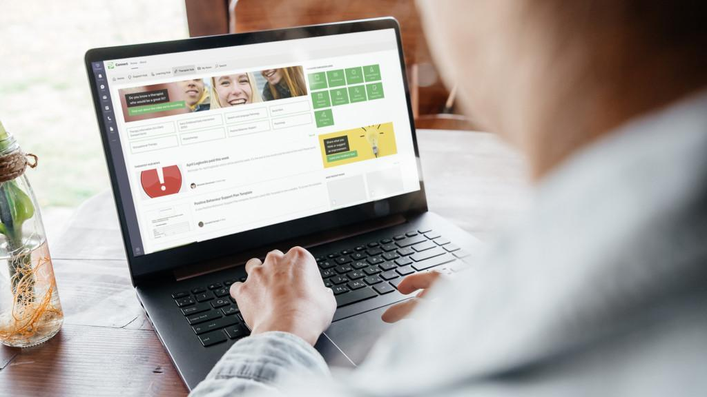 Therapy Pro's intranet in Microsoft Teams