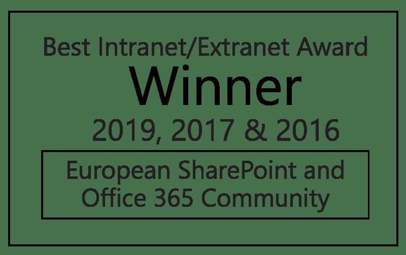 2019_2017_2016_Valo Intranet Best Intranet